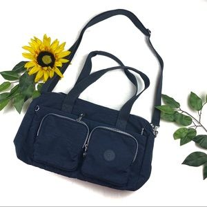 Kipling Cyrene Pockets Satchel Crossbody Bag